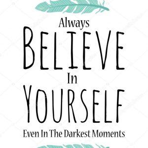 Rechtop in de wind-Blijven geloven in jezelf-moed