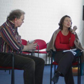 foto Loek en Jolanda bij therapeut onder opleidingen